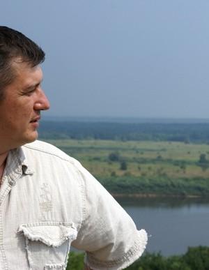 На родине Владимира Жильцова. г. Елатьма Рязанской области, река Ока,10-11.07.2010г.