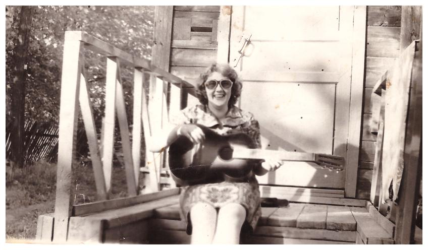 июнь 1980г., маме - скоро 30 лет!..
