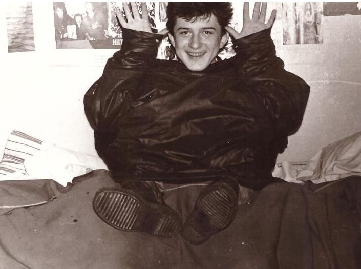 """гор.Горький, ул.Бекетова 1Б, 1988-89г. """"ОБЩАГА"""""""