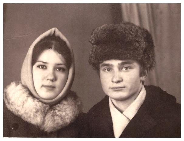 Мои родители Решетниковы Ирина Владимировна и Иван Ефтифьевич, 18.01.1970г.