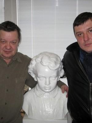 Три Володи... С вологодским журналистом Владимиром Панцыревым.