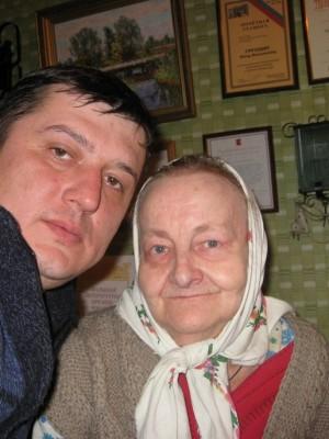 С поэтессой Ниной Груздевой. Подруга, современница Рубцова. Его любовь...