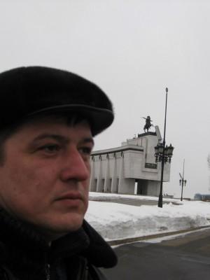 10.03.2010г. По пути в Вологду. Москва, на Поклонной горе.