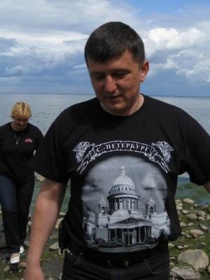 04.07.2009г., Санкт-Петербург.Петергоф, Финский залив.