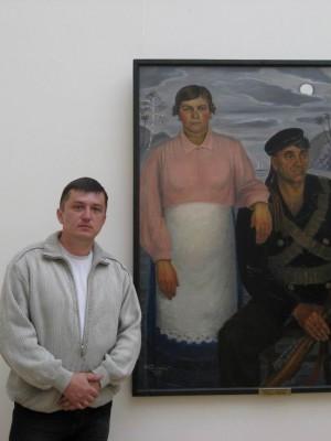 06.07.2009г., Санкт-Петербург. Русский музей. Поближе к простому народу...