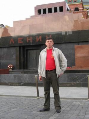 Москва, 20.05.2008г., заходил я к Нему. Действительно . чело высокое, знать мудрое.