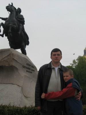 Санкт-Петербург, 17-19.05.2008г., медный всадник.