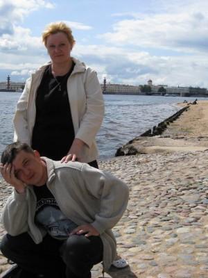 05.07.2009г., Санкт-Петербург. У Петропавловской крепости.