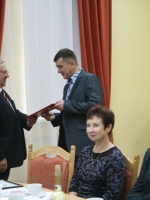 на вручении премии им. Корнилова