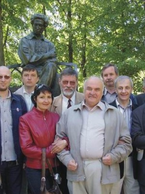 Поэт В.Решетников в Болдино