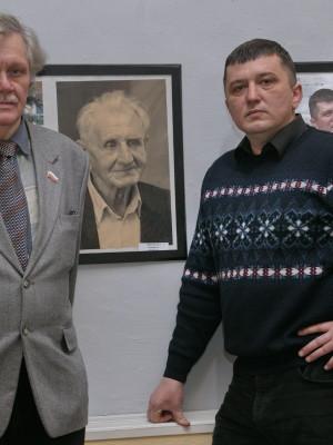 С поэтом А.В.Фигаревым