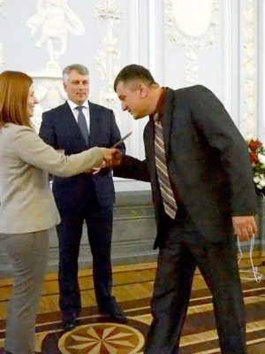 ПРЕМИЯ НИЖНИЙ НОВГОРОД - 2017 за книгу ВЯЗЬ